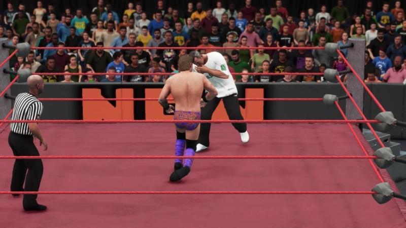  WW  Shane McMahon vs Chris Jericho