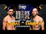 UFC FIGHT NIGHT WINNIPEG Ricardo Lamas vs Josh Emmett