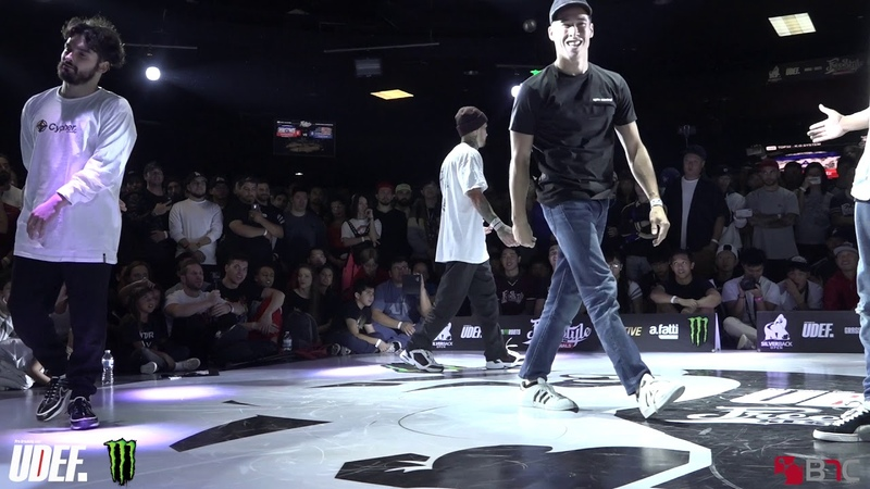 Unstoppabullz Vs Rock Force - Top 16 - Freestyle Session 2018 - Pro Breaking Tour - BNC
