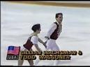 Олимпийские игры 1988 Фигурное катание пары Gillian Wachsman Todd Waggoner короткая программа