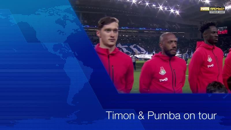 Timon Pumba on tour