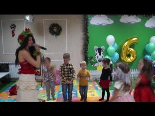 День Рождения в стиле Моана Детский клуб Веселая зебра Саратов