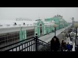 ЖД Вокзал Омск декабрь 2016