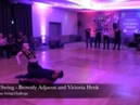Solo Swing - Brownly Adjavon and Victoria Henk