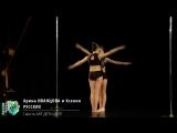 Арина ИВАНЦОВА и Ксения РУССКИХ Pole Artistic Дети Дуэт I Место 2018 Другие Танцы Весна
