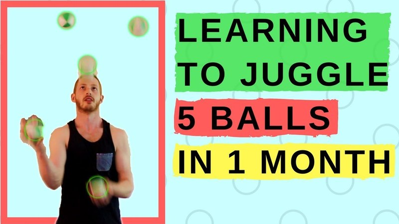 Learn to Juggle 5 Balls in 1 Month || Max's Monthly Challenge