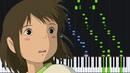 One Summer's Day (Inochi no Namae) - Spirited Away [Piano Tutorial] (Synthesia) Yeh-Kun