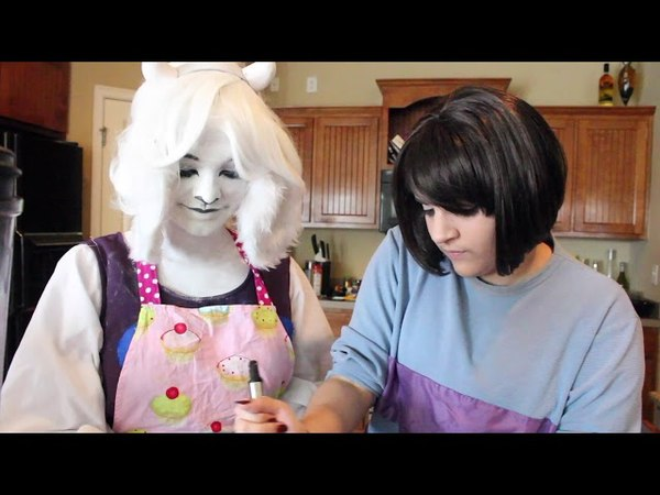 Baking Butterscotch Pie With Toriel | Party at Toriels [UNDERTALE Cosplay]