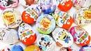 ШОКОЛАДНЫЕ СЮРПРИЗЫ Смешарики,Лунтик,Смурфики,Барбоскины,Дисней,Барби Kinder Surprise Eggs Unboxing