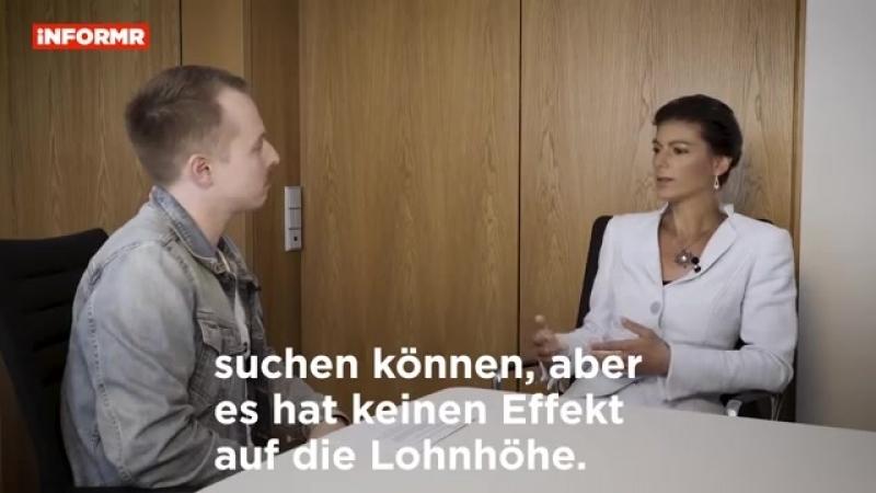 Flüchtlingspolitik 2018- Was läuft falsch- Sahra Wagenknecht-