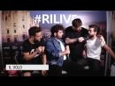IlVolo intervista dopo concerto Rilive 16/06/18