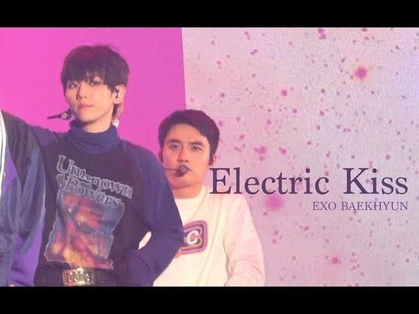 180713-180715 ElyXiOn dot in SEOUL ' Electric Kiss ' 백현 Focus