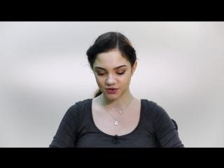 Видеоответ Евгении Медведевой