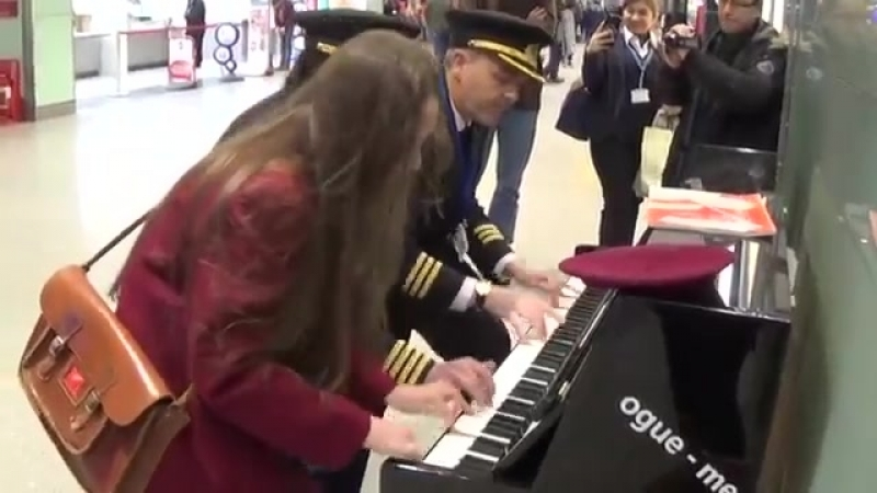 BUNKING OFF SCHOOL TO PLAY PIANO WITH AIRLINE PILOTS