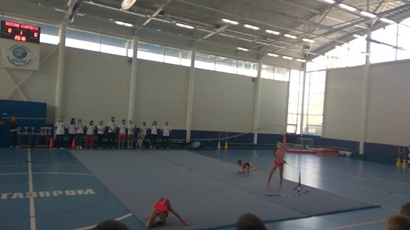 Веселые старты выступления гимнасток