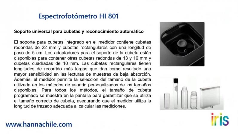 Спектрофотометр IRIS HANNA nkpribor.ru