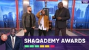 Shaq Recreates Scenes from Black Panther and Creed NBA on TNT