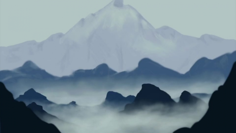 Drawing mountains | Khich