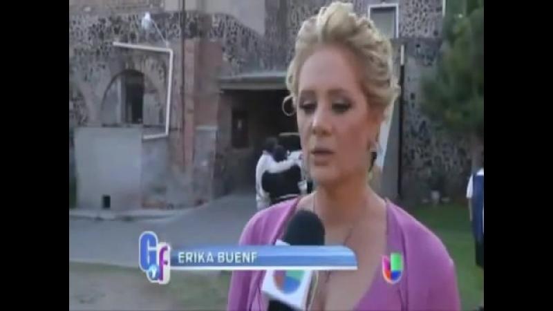 Erika рассказывает о съёмках Amores verdaderos программе Gordo y lo Flaca Толстый и тощая Feb 2013