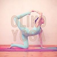 Логотип OliKo Yoga - йога для жизни