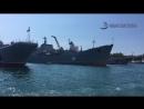 Корабли и подлодки в Севастопольской бухте