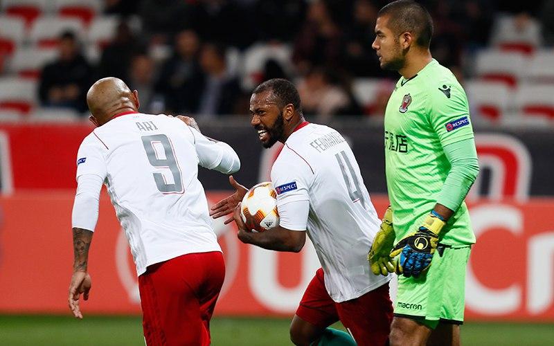 418. OGC Nice (FRA) - Lokomotiv Moskva (RUS) 2:3
