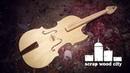 Making a single string piezoelectric violin