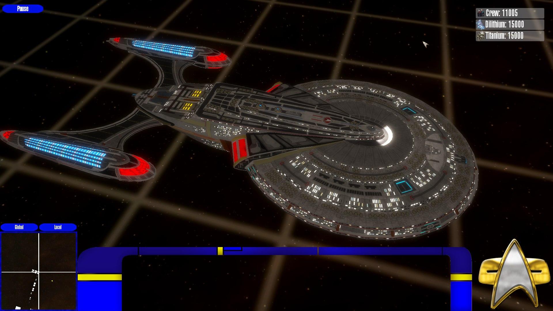 Star Trek: Defense Line (Developing a new ST RTS game