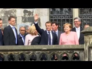 Меркель: Европа больше не может полагаться на защиту США