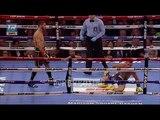 Нокдаун Василия Ломаченко в 6 раунде Lomachenko vs Linares