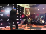 #UFCBelem Valentina Shevchenko   Открытая тренировка