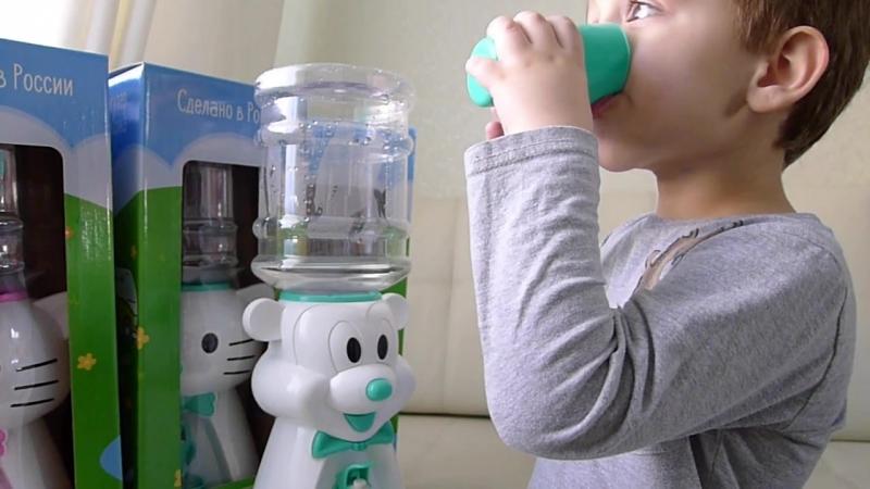 Детский кулер польза здоровью и развитие новых навыков