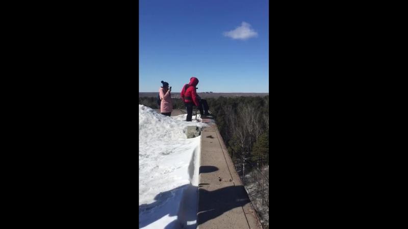 первый прыжок высота 30 метров спасибо команде ZigZagTeam за незабываемые ощущения