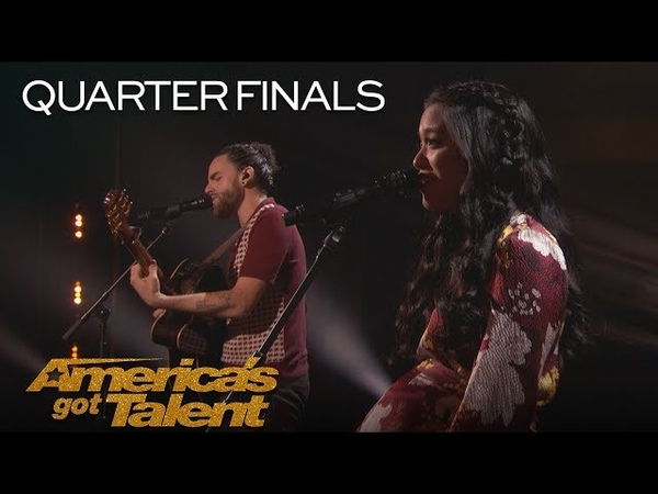 Us The Duo: Married Couple Sings Adorable Original Like I Did With You - America's Got Talent 2018