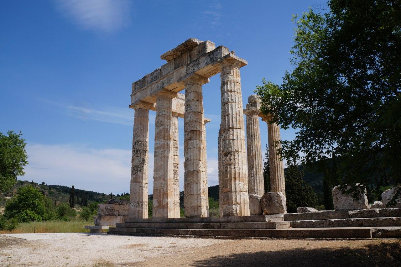 Место, где Геракл победил Немейкого льва