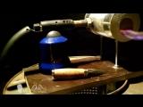 Самодельный кузнечный горн из двух ведер и вентилятора - Проект « Дача »