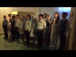 Рождественский утренник в храме новомучеников и исповедников Церкви Русской