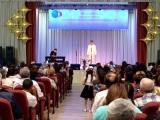 Играет Иляна Устинова, победительница 1 этапа конкурса