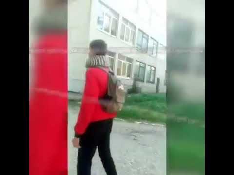 студенты сняли момент взрыва в колледже в Керчи