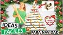 DECORA EN NAVIDAD ÁRBOL CON TUBOS DE CARTÓN FÁCIL DE HACER
