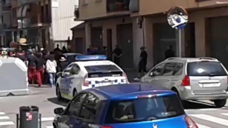 Toyota prius hibrid local police prat