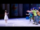 Генеральная репетиция спектакля Щелкунчик сцена паяцы и королева