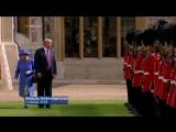 Дональд Трамп потерял Елизавету II