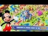 jugando disney magic kingdom un juego genial descarguenselo amigos esta muy bueno