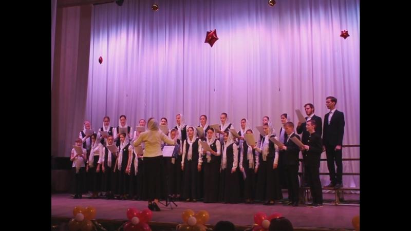 2018 24 мая Концерт церковных хоров. Архиерейский детско-юношеский хор