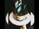 Торт для поклонника игры Half Lafe