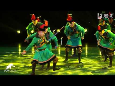 Монгольский танец - Лучники на канале ZaanOnline