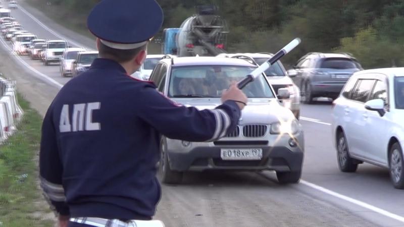 В Иркутской области госавтоинспекторы привлекают в административной ответственности водителей за движение по обочинам