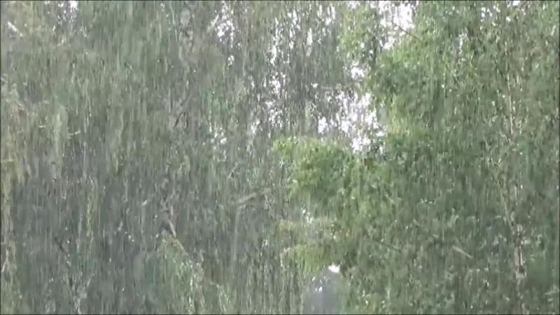 На Тамбов обрушились сильные дожди 17 - 18 июля 2018!