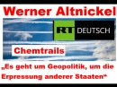 """""""Es geht um Geopolitik, um die Erpressung anderer Staaten"""" – Ex-Greenpeace-Aktivist untersucht """"Chemtrails"""""""